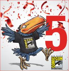 Comic-Con International's Toucan Blog, the Only OFFICIAL Blog of Comic-Con and WonderCon
