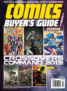 The final issue of Comics Buyer's Guide
