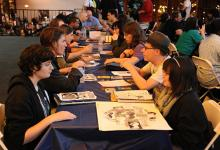 Comic Creator Connection at APE 2013