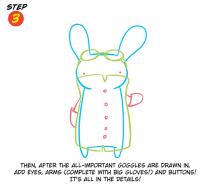 Bunny Step 3