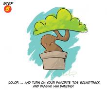 A Happy Little Bonsai Tree!