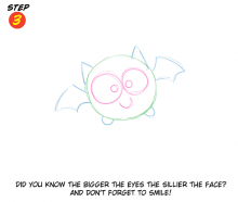 You Can Draw with Katie Cook 025 ... A Cute Bat
