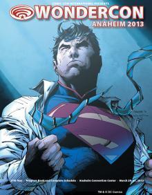 WonderCon Anaheim Program Book Cover