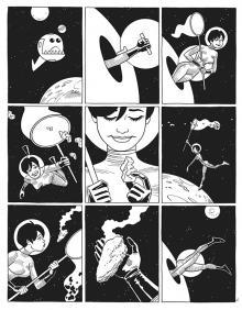Jaime Hernandez's in Love & Rockets #8