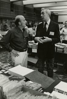 Will Eisner and Gil Kane