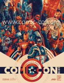 Comic-Con International 2018 Souvenir Book