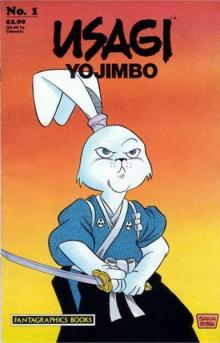 The cover of Usagi Yojimbo #1, published by Fantagraphics in 1987.