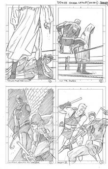 More Daredevil cover concepts by Chris