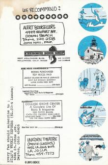 1970 San Diego Comic-Con Program Book Page 7