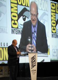 Mark Waid at the Eisner Awards