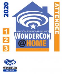 WonderCon@Home Badge