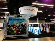 The Nintendo booth at WonderCon Anaheim