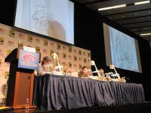 Quick Draw panel at WonderCon Anaheim