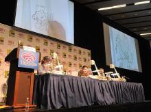 Quick Draw panel at WonderCon Anaheim