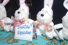 Zombie Bunny at WonderCon Anaheim