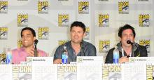Almost Human panel at Comic-Con International 2013