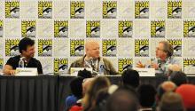 Avengers panel at Comic-Con International 2013