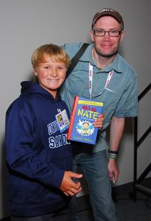 Big Nate panel at Comic-Con International 2013