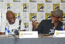 Wayne Brady and Orlando Jones at Comic-Con International 2013