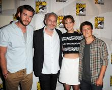 The Hunger Games: Catching Fire panel at Comic-Con International