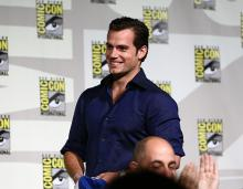 Henry Cavill at Comic-Con International 2013