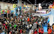 Comic-Con International 2013 Exhibit Hall