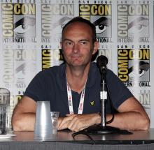 Gary Frank at Comic-Con International 2013