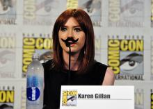 Karen Gillan at Comic-Con International 2013