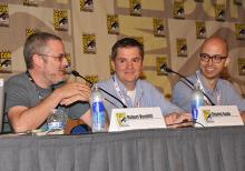 Green Lantern panel at Comic-Con International 2103