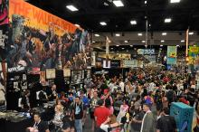 Image Comics booth at Comic-Con International 2013