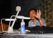 Jim Lee at Comic-Con International 2013