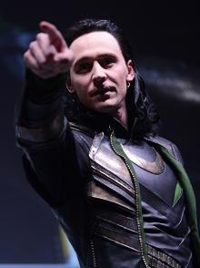 Loki at Comic-Con International 2013