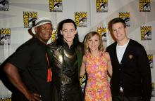 Marvel stars at Comic-Con International 2013