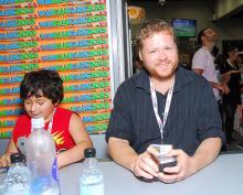 Axe Cop at Comic-Con International 2013