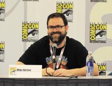 Mike Norton at Comic-Con International 2013