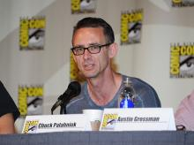 Chuck Palahniuk at Comic-Con International 2013