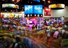 Exhibit Hall at Comic-Con International 2013