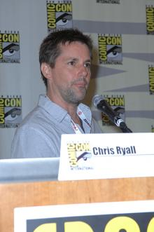 Chris Ryall at Comic-Con International 2013