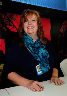 Gail Simone at Comic-Con International 2013