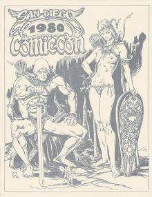 Comic-Con International Souvenir Book Covers