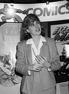 Will Eisner Hall of Fame Recipient, 2018, Carol Kalish