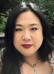Joyce Chin at Comic-Con International, July 20–23 at the San Diego Convention Center