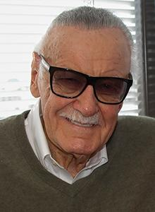 Stan Lee at Comic-Con International 2017, July 20–23 at the San Diego Convention Center