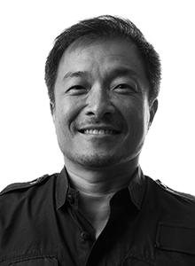 Jim Lee at Comic-Con International 2017, July 20–23 at the San Diego Convention Center
