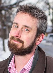 Chip Zdarsky at WonderCon Anaheim 2017, March 31–April 2 at the Anaheim Convention Center