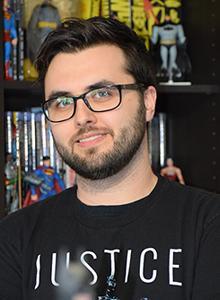 Jason Fabok at WonderCon Anaheim 2018, March 23–25 at the Anaheim Convention Center