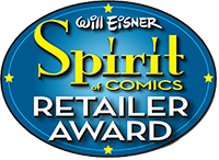 Will Eisner Spirit of Comics Retailer Awards