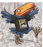 Comic-Con's Toucan