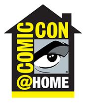 Comic-Con@Home logo