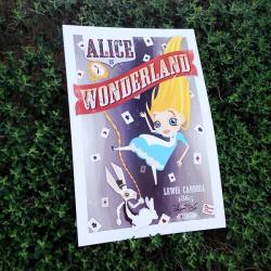 Alice in Wonderland Exclusive Wondercon Print